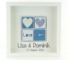 Geldgeschenke - personalisiertes Hochzeitsgeschenk - Hochzeitsbild - ein Designerstück von schoenes-von-Herzen bei DaWanda
