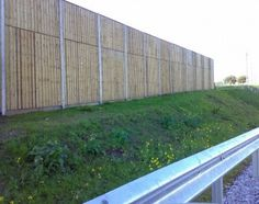 Timber acoustic fencing - Secured by Design approved Acoustic Barrier, Sound Wall, Timber Boards, Timber Fencing, Galvanized Steel, Fence, Wood, Walls, Design