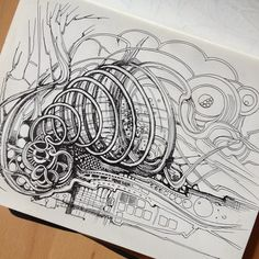 #art #ivinniart #sketch #moleskine by Irina Vinnik, via Flickr