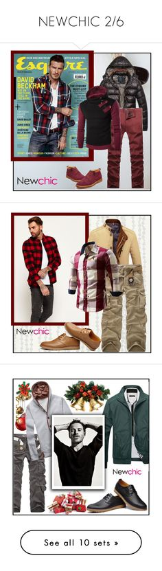"""""""NEWCHIC 2/6"""" by blagica92 ❤ liked on Polyvore featuring men's fashion, menswear, newchic, Astek, Superdry and Jael"""