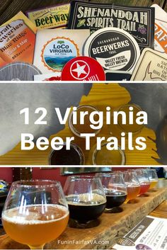 Virginia USA Travel | Craft Beer | Virginia Beer Trails offer inspiration and guidance on the state's thriving brewery scene, whether your focus is the journey or the tasty brew that awaits.