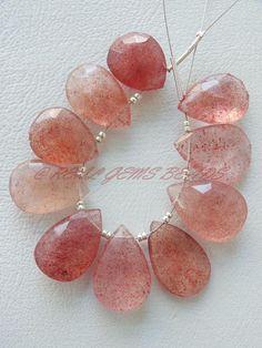 """13x18MM ovale Rhodochrosite Morganite Collier 18/""""AAA"""