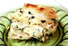 White Chicken Alfredo Lasagna