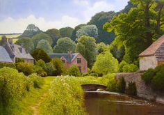 Art by-Michael James Smith Famous for his stunning landscape paintings ...