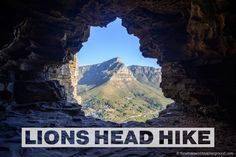 Cape Town: Hiking to Lion's Head and how to find Wally's Cave