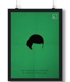 Pôster/Quadro minimalista O fabuloso destino de Amelie Poulain