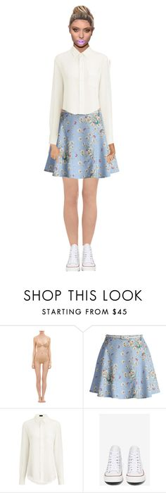 """""""90s teen"""" by lydia-radford on Polyvore featuring La Perla, Chicwish, Joseph, Converse and Fiebiger"""
