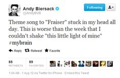 XD Andy had 'This little light of mine' stuck in his head. Emo Band Memes, Emo Bands, Music Bands, Like Bryan, Black Viel Brides, Andy Black, Motionless In White, Of Mice And Men, Andy Biersack