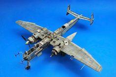"""Heinkel 219 """"UHU"""" 1/48 by RICARDO ABAD """"CHICHO""""."""