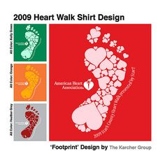 Made this a few weeks ago for the 2009 Stark County Heart Walk.  TKG ended up…