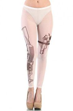 OMG Tattoo Guns Leggings Www.OMGLeggings.com | tattoos picture tattoos guns