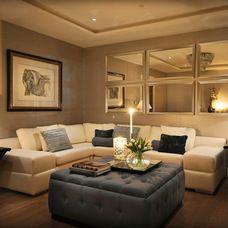 Contemporary Living Room by Dapa