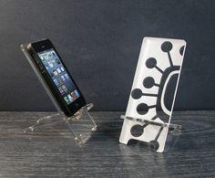 Atomic Sputnik iPhone 5 Phone Stand Docking Station by PhoneTastique $24.00
