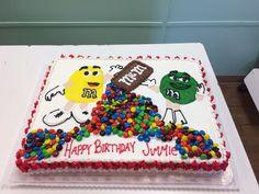 M&M cake. - HomeStyle Bakery Antioch, TN