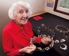 Jewelry designer Merry Renk