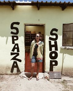 Getting some supplies at the local Spaza Shop. In rural EC there are no big chain grocery stores, only Spaza shops. These are informal convenience shops usually run from someones home. Africa Travel, Grocery Store, The Locals, South Africa, Shops, Chain, City, Shopping, Instagram