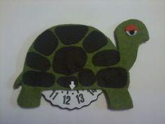 Una tartaruga disco orario per ricordare al papà di andare piano!