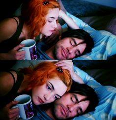 Eterno resplandor de una mente sin recuerdos - Kate Winslet y Jim Carrey