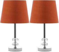 "Safavieh Ashford Orb 16"" H Table Lamp with Empire Shade   AllModern"