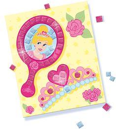 SES Glitter dreams - glitter mosaic #glitterdreams #glitter #mosaic #creative #mozaïek #princess