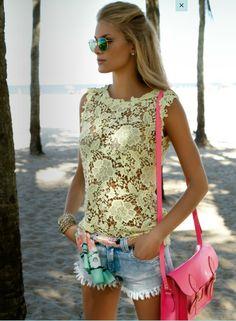 Cute Lace top.