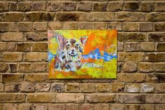 """Title """"Chihuahua""""  original spray paint art  Solidity Collection  Painted on Wood canvas size A3  Artist TOMOYA    information  http://www.spray-art.jp/    info@spray-art.jp"""