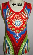 A beautiful colorful & bright Tank Top. Cotton. Easy to clean - machine wash in cold water, tumble dry low, cool iron if needed, do not bleach. Comfortable bright colors. A great unique look.         PORTION OF PROFITS GO TO BREAST CANCER RESEARCH