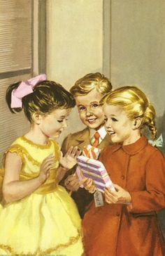 Presents - The Party - LadyBird Books 1960