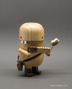 Cute wooden toy
