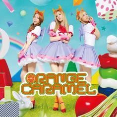 """Orange Caramel CD cover for """"Yasashii Akuma"""""""