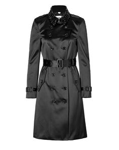 BURBERRY LONDON Silk Blend Northbourne Trench Coat $ 3,925
