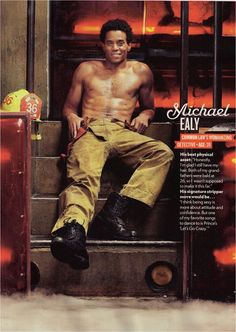 Michael Ealy - People Magazine Sexiest Man Alive issue - Stylist Deborah Afshani