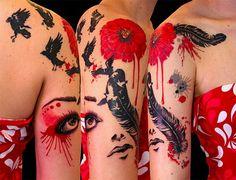 Image on Revista web  http://revistaweb.es/los-20-mejores-tatuajes-acuarela/