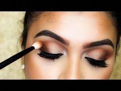 Atemberaubendes Makeup-Tutorial! #stepbystepmakeupideas Simple Makeup Tips, Eye Makeup Tips, Smokey Eye Makeup, Makeup Ideas, Makeup Tutorials, Makeup Geek, Eyeshadow Makeup, Makeup Brushes, Makeup Hacks