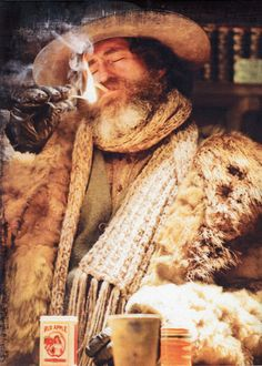 """Favourite character in the movie """"The Hateful Eight."""""""