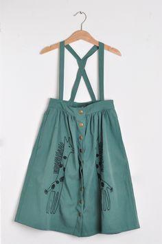 Nadadelazos Οργανική Φούστα - Giraffes Waist Skirt, High Waisted Skirt, Barcelona, Skirts, Fashion, Moda, High Waist Skirt, Fashion Styles, Skirt