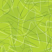 Lime-olicious - dianarich - Spoonflower. I've got to work a boomerang print into this show.