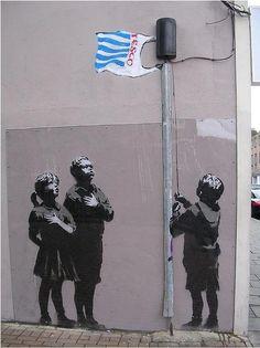 Banksy #Tesco.....