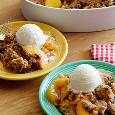 Cin-ful Peach Cobbler By Guy Fieri