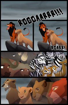 This would've been more Hamlet if Sarabi had been mated to Scar. I mean, she was, since that's the way Lions work, one male mating with all the females, but you get my point. Lion King was Disneyfied Hamlet. And the sequel was Romeo and Juliet. Lion King Story, Lion King 1, Lion King Fan Art, Disney Lion King, King Art, Lps, Lion King Quotes, Lion King Drawings, Funny Disney Memes