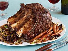 Standing Rib Roast Recipe : Anne Burrell : Food Network - FoodNetwork.com