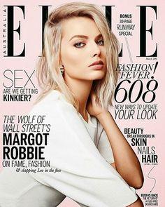 Margot Robbie for Elle Australia, March 2014