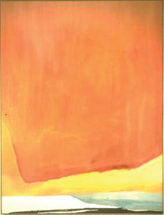'Sunset Corner' (1969) by Helen Frankenthaler