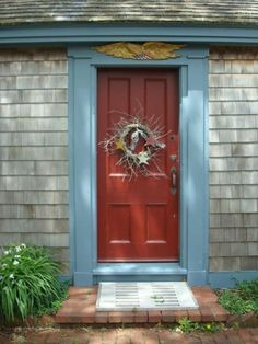 1000 images about exterior home colour ideas on pinterest for Cape cod front door