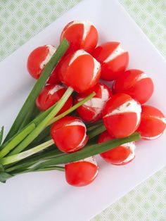 Tulipanes de tomate