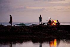 Beach bonfire, get it started! #theCinOC