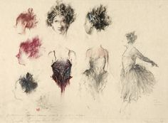 Ballroom Headdresses- Cinderella