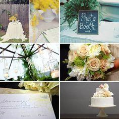 Elegant Backyard Wedding Inspiration   WeddingWire: The Blog
