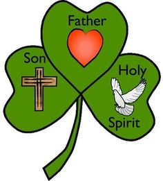 Free Shamrock Craft and Poem about the Trinity by Charlott