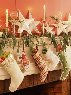 Stocking Style Holiday decor ideas